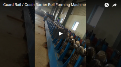 Guard Rail / Crash Barrier Roll Formmaschine